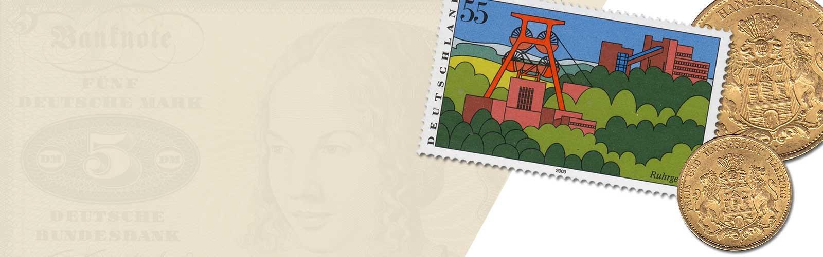 Münz und Briefmarken Ankauf Harms